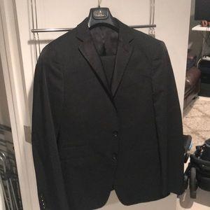Black Calvin Klein Suit
